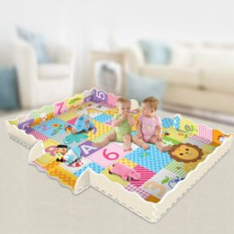 baby floor mat toys Australia - Newborn Baby Comfortable Puzzle Thicken Letter Play Mat Crawling animals puzzle floor carpet infant baby creeping kids toy mat for kids