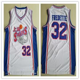 O jérsei de basquetebol # 32 dos homens os mais novos Jimmer Fredette Shanghai Sharks Jerseys 100% jérsei de alta qualidade costurado completo para venda