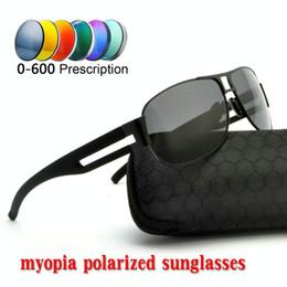 MINCL Retro Square men women polarized sun glasses polarized sunglasses  Custom Made Myopia Minus Prescription Lens -1 to -6 NX fd648ecf3e