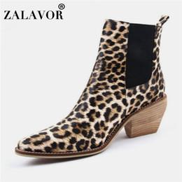 $enCountryForm.capitalKeyWord Australia - Taoffen Women'S High Heels Ankle Boots Winter Autumn Fashion Leopard Western Cowboy Boots Brand Designer Shoes Women Size 34-43