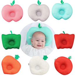 $enCountryForm.capitalKeyWord NZ - Infant fruit vegetable shape Memory Pillow Newborn Support Cushion Pad Baby Stereotypes Pillow 8 styles C6867