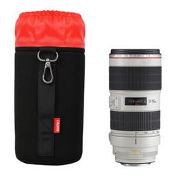 $enCountryForm.capitalKeyWord Australia - DSLR SLR Camera Lens Protective Bag Black Red Waterproof Shockproof Storage Pouch Case