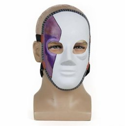 sci fi costumes wholesales Australia - Sally Face Masks Halloween Latex Cosplay Costume Accessories Games Full Face Props