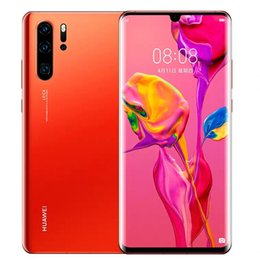 mobile phones indonesia 2019 - Original Huawei P30 Pro Mobile Phone 6.47 inch OLED FHD+ 2340*1080 pixels Screen Smartphone NFC OTG GPS Android 9 Phone