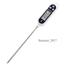 Controller Probe Australia - Hot Sale Digital Kitchen Thermometer For Meat Water Cooking Precision Food Probe BBQ Electronic Thermometer Kitchen Tools