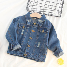 $enCountryForm.capitalKeyWord Australia - girl jackets girls outerwear 5 years 2019 denim jacket girl children spring jacket girl coat toddler outerwear jean jacket