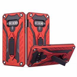 $enCountryForm.capitalKeyWord Australia - Kickstand Case Defender Shockproof Heavy Duty Armor Cover For Samsung Glaxy A5 2018 A530 A6 PLUS 2018 A8 Star A9 Star G885 J7 Max C10 Pro