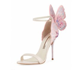 Sophia webSter SandalS online shopping - Sophia Webster Butterfly Wings Sophia Webster Evangeline Angel wing Sandals Wedding Bridal Pumps Womens Sandal