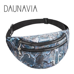 $enCountryForm.capitalKeyWord Australia - DAUNAVIA Serpentine Belt Bag for Women PU Leather Waist Bags Female designer Fanny Pack Mobile Phone purse Bag Waist Packs 2019