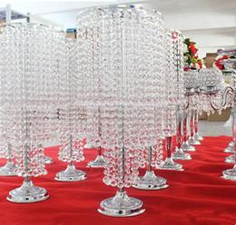 $enCountryForm.capitalKeyWord Australia - Wedding decoration crystal flower vase for home decor handmade flower of crystal vase