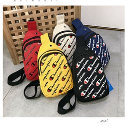 Packing belt straP online shopping - 5styles Letter Printed Chest Bag Crossbody Waist Chest Pack Belt Strap Handbag Shoulder Bags Travel Beach Sports Purses FFA2359