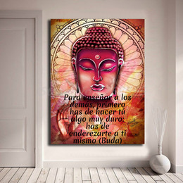 $enCountryForm.capitalKeyWord Australia - Buddhism Portrait Canvas Prints Picture Modular Paintings For Living Room Poster on The Wall Home Decoration