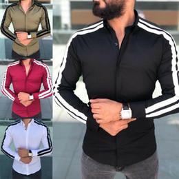 $enCountryForm.capitalKeyWord Australia - HAIYIXIN 3300# 4 cOLOUR M-XXL New Men Fashion Casual Luxury Stylish Slim Fit Long Sleeve Dress Shirts Top