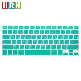 "Retina Macbook 15 Australia - HRH Slim US Russian Keyboard Film protector for Macbook Air Pro Retina 13"" 15"" 17"" Laptop Skin Cover for Mac book 13 15 Gel case"