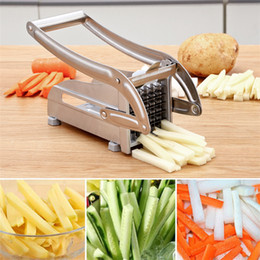 $enCountryForm.capitalKeyWord Australia - French Fry Cutter with 2 Blades Stainless Steel Potato Slicer Cutter Chopper Potato Chipper for Cucumber Carrot Kitchen Cooking Tools