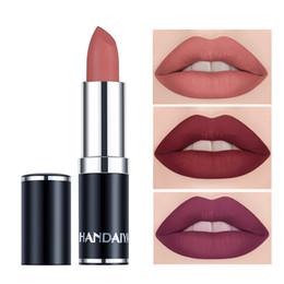 $enCountryForm.capitalKeyWord Australia - 12 Color Matte Lipstick Waterproof Mate Red Lip Long Lasting Makeup Metallic Gloss Make Up Nude Lip Stick Matte Lipstick