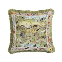 seat throws NZ - Printed Plush Square Decorative Throw Printing Animal Horse Pillowcase Cushion Cover Comfortable Seat Pillow Covers *Women