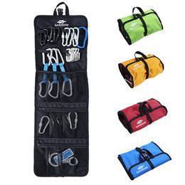 $enCountryForm.capitalKeyWord Australia - Rock Climbing Organizer Waterproof Folding Sling Carabiner Quickdraw Gear Arrange Bag Hook Gear Storage Bag Travel Lightweight