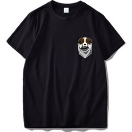 a1727350 2019 German T Shirt Funny Shorthaired Pointer In Your Pocket T-shirt Summer  Cotton Cute Dog Tee Shirt Homme Pug