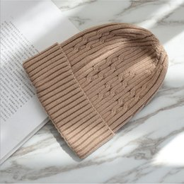 Woolen hat for girls online shopping - High Quality Winter Hats For Women Woolen Knitted Hat Beanies Couple Solid Color Warm hedging cap Skullies Beanie For Girl