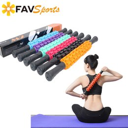 $enCountryForm.capitalKeyWord Australia - 2018 High Quality 9 Spiky Ponit Yoga Massage Roller Stick Leg Back Relax Foam Roller Muscle Relieve Yoga Block Fitness Equipment T190720