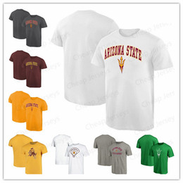 Devil camp online shopping - Short Sleeve T Shirt Arizona State Sun Devils Scorcher Hometown Collection Fashion Summer T Shirt Round neck tee shirt