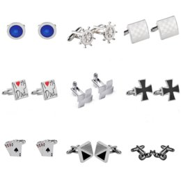 tie pin shirts Australia - A Variety of Styles New Men's French Shirt Cufflinks Fashion Accessories Cufflink Tie Pins Mens Gifts Jewelry Father's Day Gift