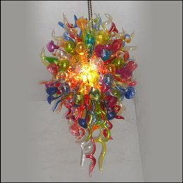 $enCountryForm.capitalKeyWord Australia - European Style Blown Glass Pendant Lamps High Ceiling Decoration Murano Glass Pendant Lights for Hotel Lobby Decor