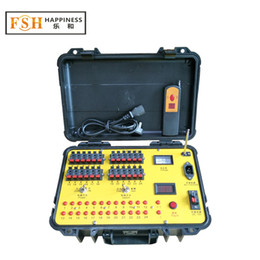 firework remote control firing system NZ - FedEX DHL Free shipping, Display Fireworks Firing System, 24 channels remote control, Sequential fire function