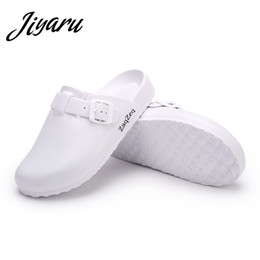 $enCountryForm.capitalKeyWord Australia - Women Casual Slippers Medical Doctors Nurses Surgical Shoes Work Flat Slippers Operating Room Lab Slippers Ladies Fashion