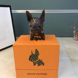Dog luggage online shopping - luggage manufacturing toy dog Europe and America rivets fashion personality pendant wealth dog