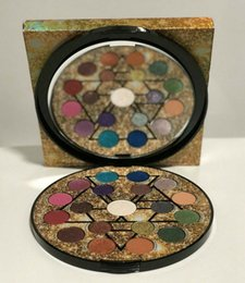 metallic eye shadow NZ - New Arrival 19 colors ELEMENTS Eye Shadow palette metallic & matte eye pressed powder makeup easy to wear DHL Free