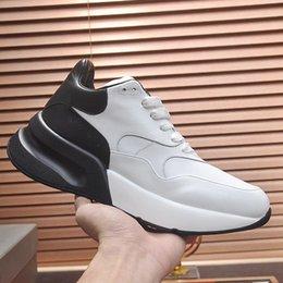 $enCountryForm.capitalKeyWord Australia - Men Casual Shoes Luxury Lace-Up Chaussures Pour Hommes Mens Shoes Leather Oversized MC652 Big Size Footwears Flats Zapatos de hombre Vintage