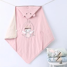 Wholesale Spring new product newborn baby is covered by natural colored cotton cotton baby quilt is small angel can wash the blanket