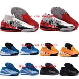 Neymar shoes New online shopping - 2019 new arrival mens soccer shoes neymar indoor soccer cleats Mercurial Superfly VII Elite IC TF football boots cr7 Ronaldo