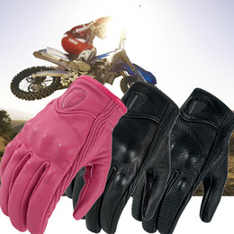 $enCountryForm.capitalKeyWord Canada - Motorcycle Gloves Real Leather Full Finger Motocross Retro Gloves women&men Luvas Guantes Motorbike Protective Gears Racing Glove S-XXL