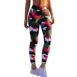 army camouflage leggings women NZ - Women Leggings Leisure Jegging Pants Trousers New High Elastic Skinny Camouflage Print Legging Spring Summer Slimming