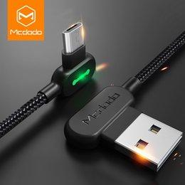 MCDODO 3 m 2.4A Hızlı Mikro USB Şarj Veri Kablosu Microusb Şarj Kablosu Samsung Huawei Andriod Cep Telefonu Kabloları kablo indirimde