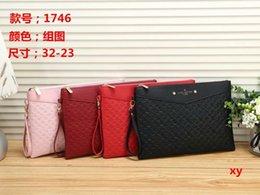 klassische High-End-Mode-Pop-Elemente Handtaschen Charme Damen Handtasche Brieftasche Kosmetiktasche beste Wahl 4 Farben für Sie zu wählen