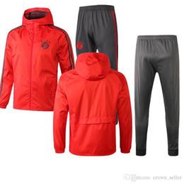 $enCountryForm.capitalKeyWord Australia - 18 19 Newst Bayern Munich Long zipper Dust coat jacket tracksuit Top Survetement JAMES training suit MULLER ROBBEN uniform thai quality