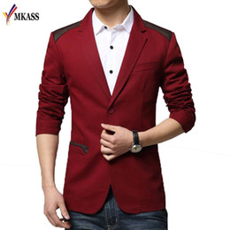 size 6xl suit NZ - New Mens Fashion Brand Blazer British's Casual Slim Fit Suit Jacket Male Blazers Men Coat Terno Masculino Plus Size 6XL