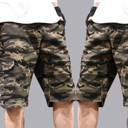 $enCountryForm.capitalKeyWord Australia - Summer Men's Leisure Shorts Fashion Thin and Loose Elastic Camouflage Keen Length Sports Plus Size Beach Pant