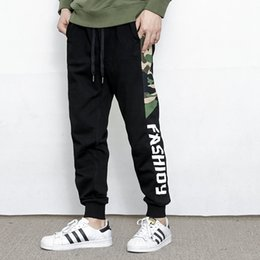 Camouflage Cotton Australia - good quality Man Jogger Camouflage Side Cotton Style Men's Sweatpants Fashion 2019 High Street Casual Pants