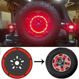 Vente en gros Lampe de frein de pneu de secours LED 3ème anneau de lampe d'éclairage de roue pour Jeep Wrangler 1997-2018 JK TJ LJ YJ CJ CJ