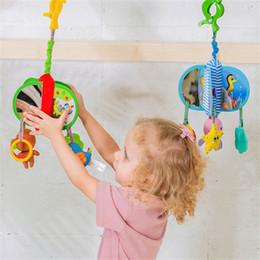 $enCountryForm.capitalKeyWord Australia - Newborn Rotating Bed Bell Baby Cartoon Animal Plush Stroller Crib Hanging Accessories Appease Wind Chimes Kid Soft Rattle Toy