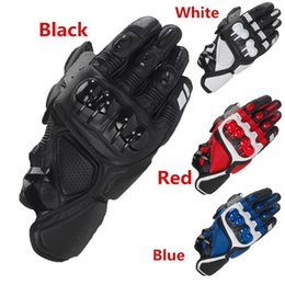 Leather Gloves For Driving Australia - Leather Racing Glove S1 Motorcycle Gloves Driving Bicycle Cycling Motorbike Sports Moto Racing Gloves for Yamaha KAWASAKI Bike
