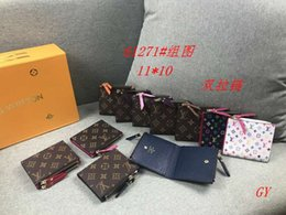 $enCountryForm.capitalKeyWord Australia - 2019 new Casual wild Ladies color matching folding wallet clip luxurys fashion high quality leather business card bag long classic wallet ca