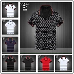 High Top Polo Australia - New Italy Fashion Designer Polos Tshirts Cool Men Women Brand Plus Size High Quality Casual O Neck Short Sleeve Summer Tops Business Polo