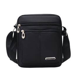 handbag small fashion man UK - Men Oxford Casual Messenger Bag Satchel Fashion Handbags Man Shoulder Bags High Quality Travel Business Male Crossbody Bags Tote Y190701