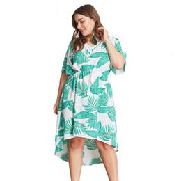 Plus Size Clothing Dresses UK - 2019 Trendy Clothing Dress Celebrity Plaid V-neck Sashes High Waist Plus Size Dress Women Vesitdo Evening Party Flare Sleeve Femme Dress